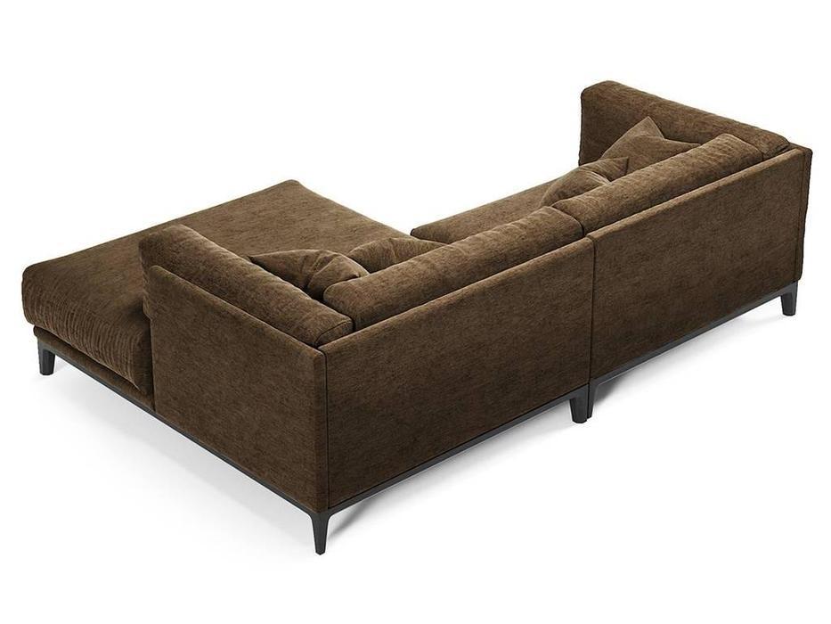 Dhome: Case: диван угловой  (коричневый)