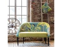 Dhome: Heavenly serenity: диван 2 местный  (желтый, разноцветный)