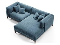 Dhome: Case: диван угловой  (синий)