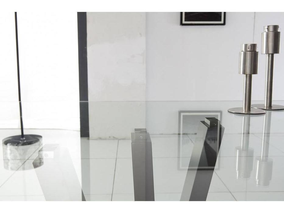 СФ: стол обеденный  (стекло, металл)