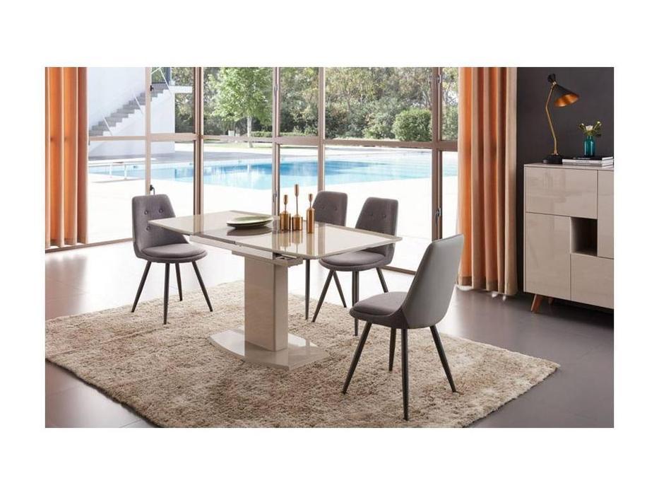 ESF: стол обеденный раскладной  (шампань)