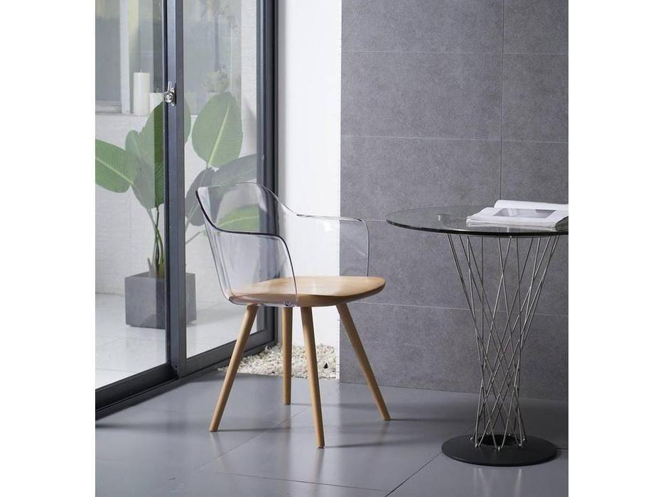 ESF: стул  (бук, прозрачный)