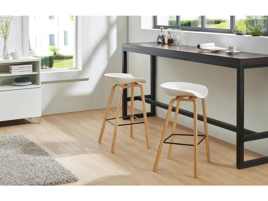 ESF: Modern: стул барный  (белый, бук)
