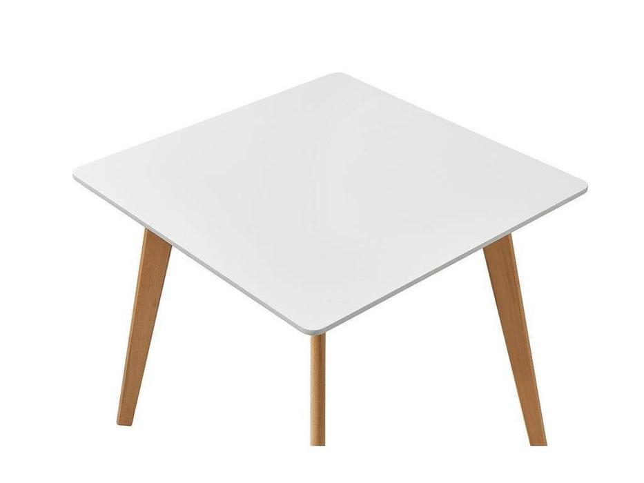 ESF: Modern: стол обеденный  (белый, бук)