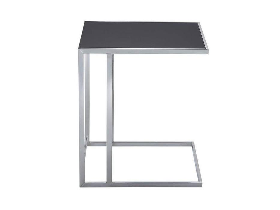 ESF: Modern: стол журнальный  (хром, черный)