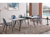 СФ: стол обеденный  раскладной (белый, черный)
