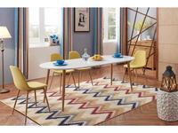 СФ: стол обеденный  раскладной (белый)