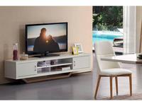 ESF: тумба под телевизор  (белый, орех)