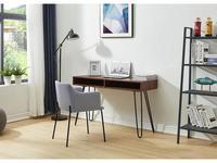 ESF: Modern: стол письменный  (орех, черный)