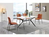 ESF: Marbella: стол обеденный  (белый, черный)