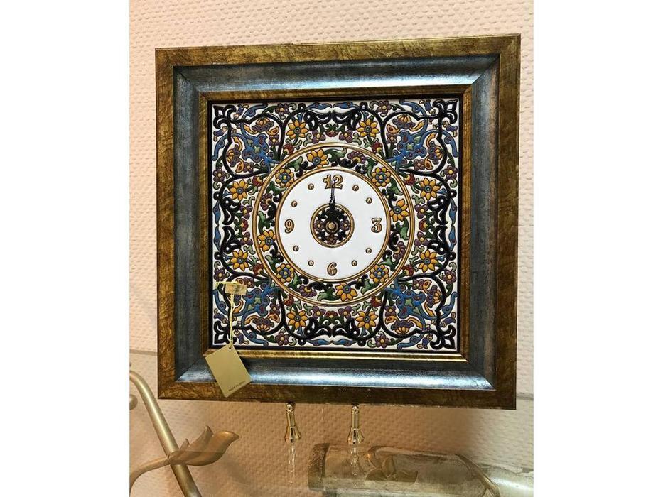 Artecer: часы настенные  42х42 (голубые)