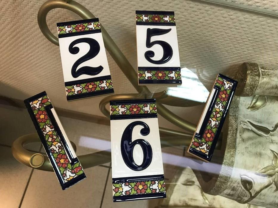 Artecer: Tamano: номер на дверь 256