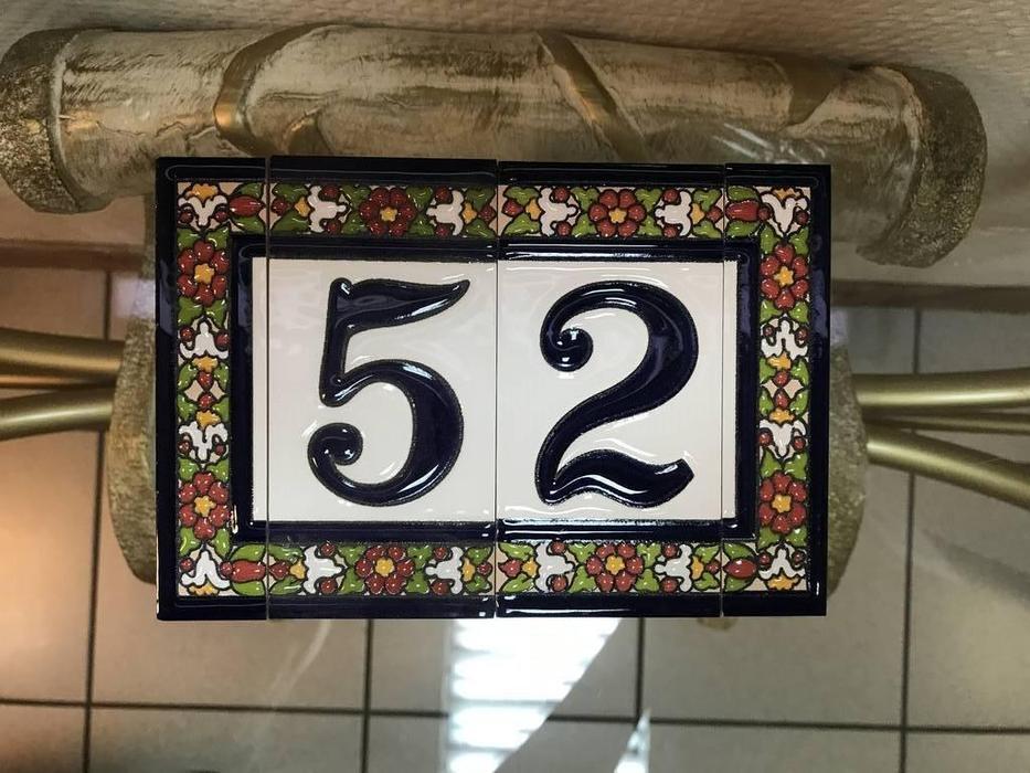 Artecer: Tamano: номер на дверь 52