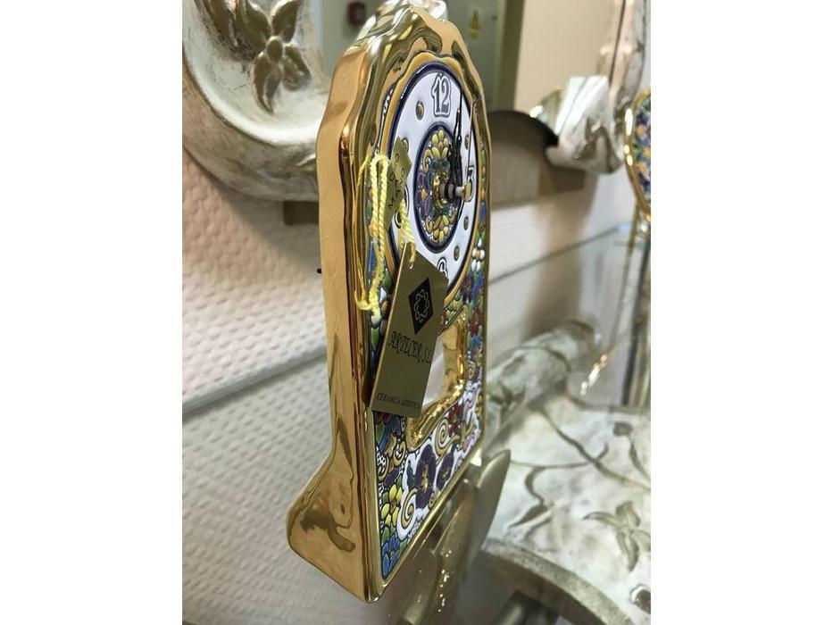 Artecer: часы настольные  с маятником 11х18см (золото)