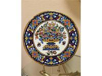 Украшение интерьера из Испании. Декоративные тарелки на стену.