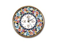 Artecer: тарелка-часы настенные  диаметр 21см