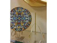 Artecer: подставка под тарелки  №6 abierto (золото)