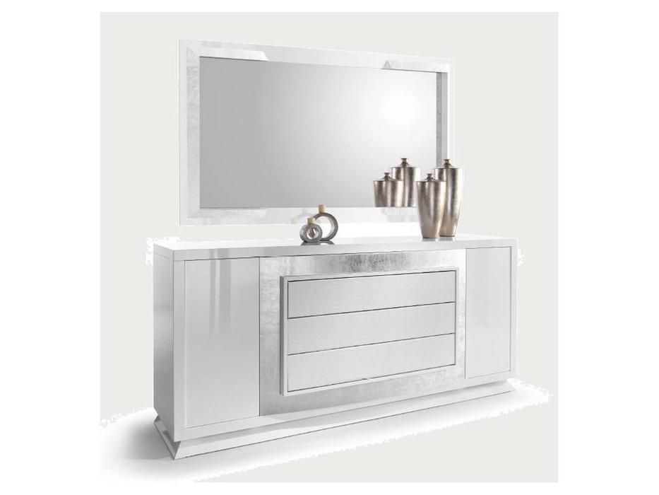 Zache: Prestige: зеркало для прилавка (Blanco brillo Pan de Platо)