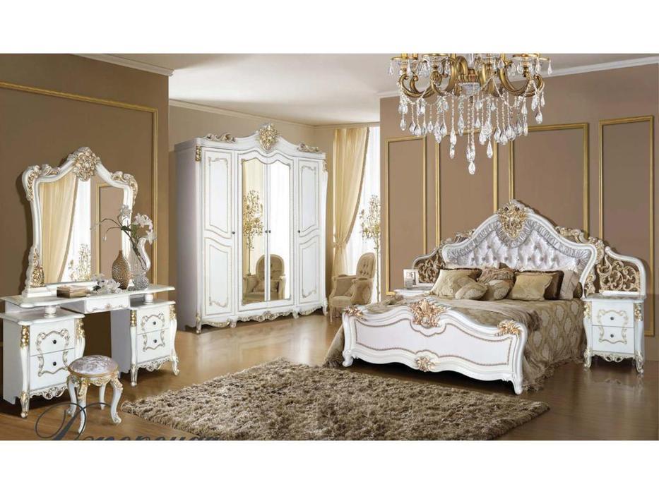 Dia: Джоконда: спальная комната (крем, золото)