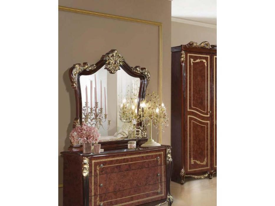 Dia: Джоконда: зеркало к комоду (орех, золото)
