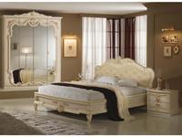 Dia: Диана: кровать двуспальная 160х200 (беж)