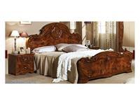 Dia: Тициана: кровать двуспальная 160х200 (орех)