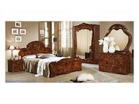 Dia: Тициана: спальная комната с 3-х дверным шкафом (орех)