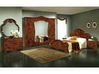 Dia: Тициана: спальная комната с 5-ти дверным шкафом (орех)