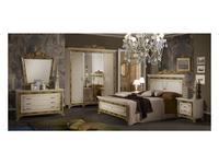 Dia: Катя: кровать двуспальная 160х200 (бежевый, золото)