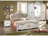 5240597 кровать двуспальная Dia: Альба