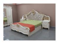Dia: Джоконда: кровать 180х200 с п/механизмом (крем, золото)