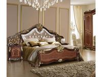 Dia: Джоконда: кровать 180х200 (орех, золото)