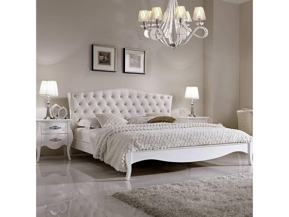 Hemis: кровать двуспальная  180х200 (белый)