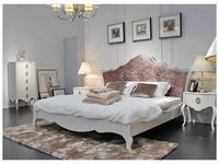 Hemis: кровать двуспальная  180х200 (бежевый глянец, тк. Шампань)