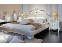 Hemis: кровать 160х200  (серый перламутр, тк.перламутровый беж)