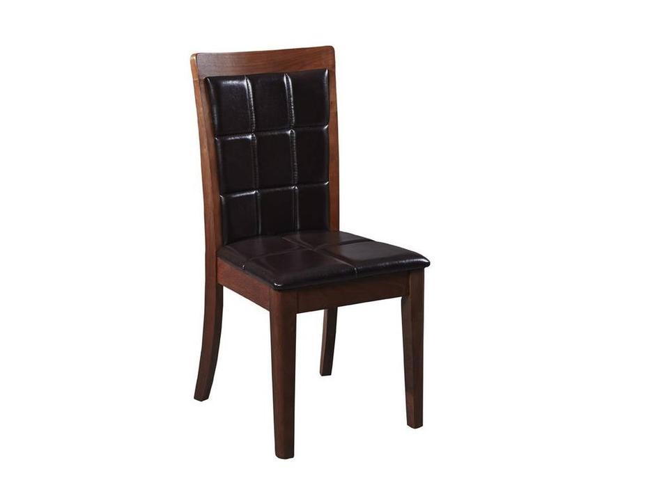 Hemis: стул  (орех, экокожа)
