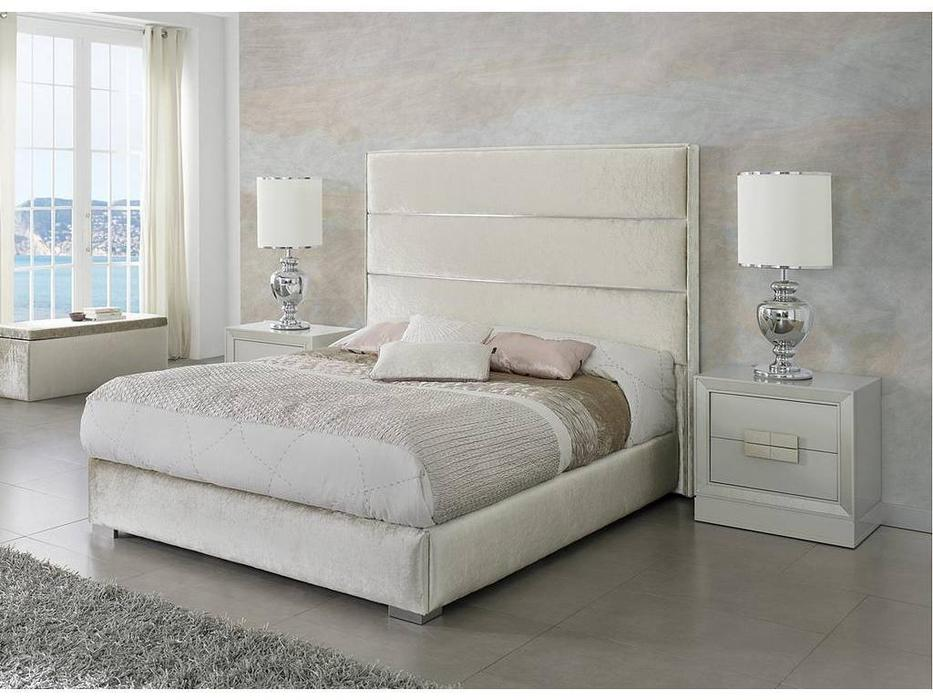 Dupen: Claudia: кровать двуспальная  160х200 (ткань)