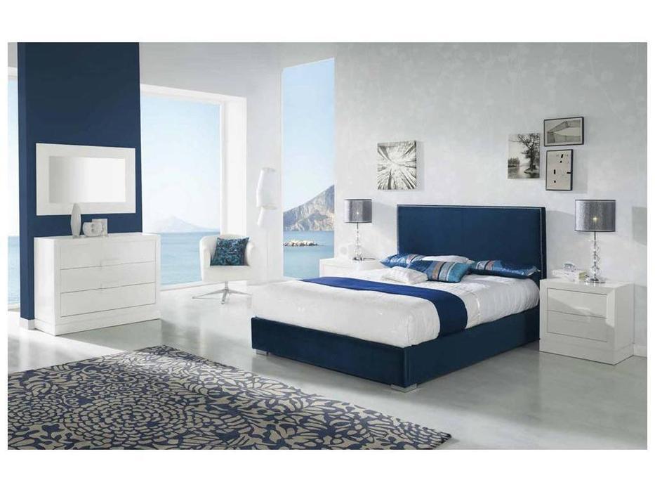 Dupen: Cristina: кровать двуспальная  180х200 (ткань)