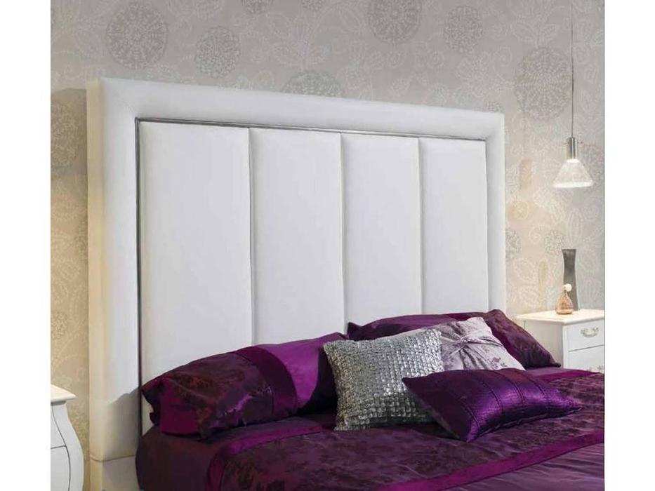 Dupen: Monica: кровать двуспальная  160х200 (экокожа)