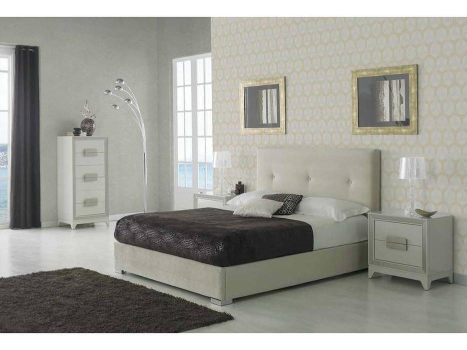 Dupen: Lourdes: кровать двуспальная  160х200 с подъемным мех-м (ткань)