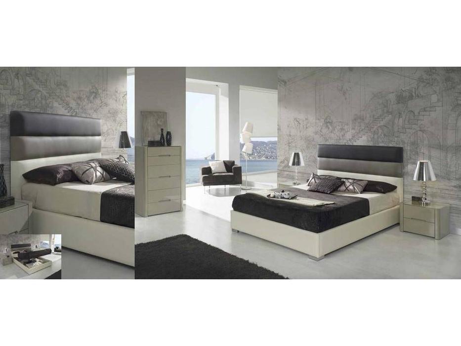 Dupen: Desire: кровать двуспальная  160х200 с подъемным мех-м (экокожа)