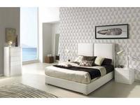 Dupen: Andrea: кровать двуспальная  160х200 с подъемным мех-м (ткань)
