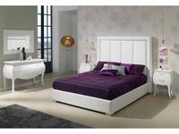 Dupen: Monica: кровать двуспальная  180х200 (экокожа)