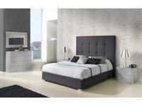 Dupen: Patricia: кровать двуспальная  160х200 (ткань)