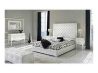Dupen: Valeria: кровать двуспальная  180х200 (экокожа)