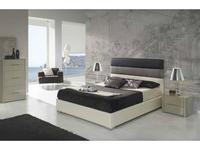 Dupen: Desire: кровать двуспальная  140х200 (экокожа)