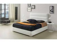 Dupen: Lidia: кровать 180х200  с подъемным мех-м (экокожа)