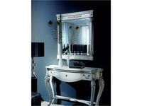Mudeva: Coleccion 1800: зеркало настенное  Louis XV (белый)