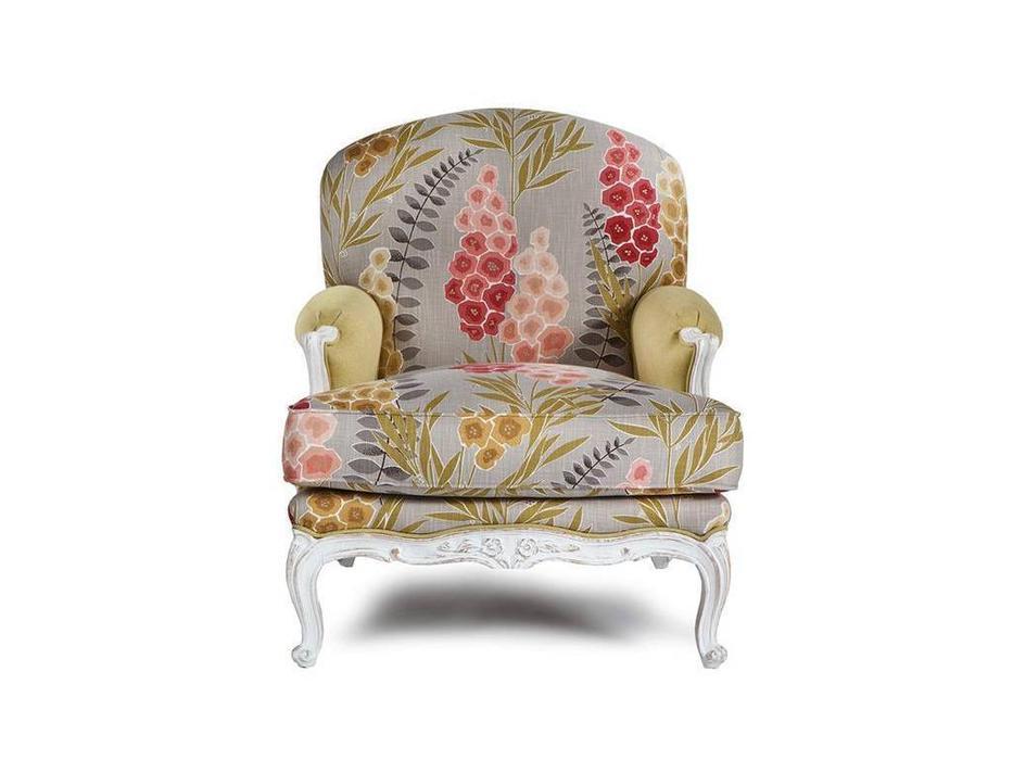 Exedra: Camelia: кресло (ткань, белый)