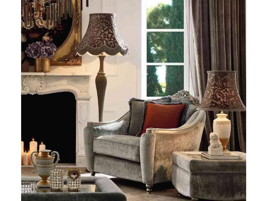 GiorgioCasa: Giulietta e Romeo: кресло  Art. S181 ткань Cat. A